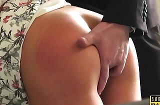 Spanked british blonde slut submitted into roughsex