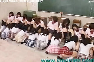 Classroom Full of Students Have Orgy