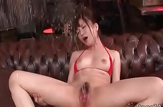 Horny Maomi Nagasawa squirts intense after hardcore dildoing