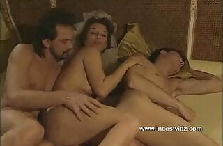 Mom tries to entice her son into threesome with her boyfriend