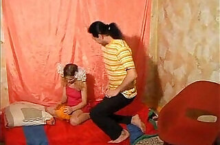 Step father forced his teen step daughter fuck