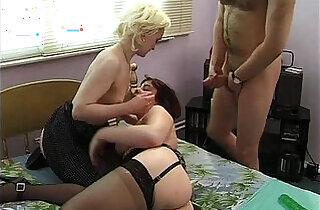 Bisex ass dildoing and fisting