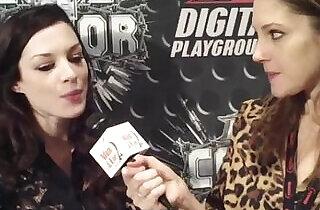 Digital Playground Fetish BDSM Porn Star Stoya Interviewed at the AVN Awards