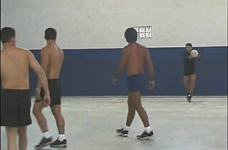 Gangbang in gym