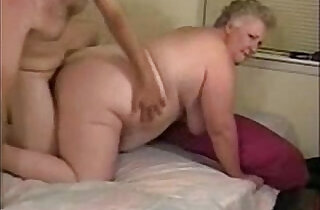 Horny granny paid to fuck each other with younger