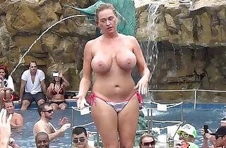 nudist swinger party key west