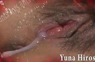 Redhead chick Yuna Hirose gagging a throbbing cock and screwed
