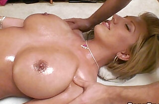 Huge natural Boobs Massage