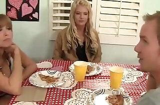 Step mom fucks her son