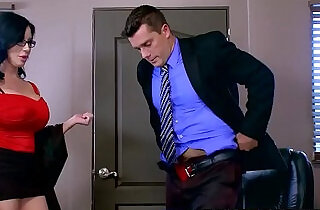 Big Tits at Work Sybil Stallone Ramon Our Little Secretary