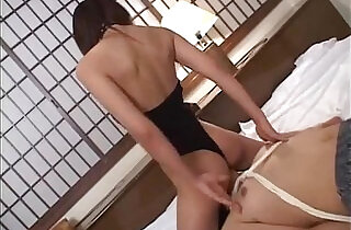 Subtitled cfnm Japanese wife becomes dominant femdom mistress