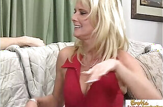 Stepmom makes a move on her tattooed stepson