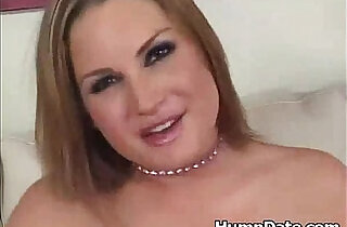 Flower Tucci with mean ass sucks fucks great