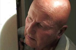 Grandfather fucking his lovely brunette granddaughter