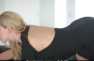 Milf and step daughter share a lucky guy