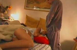 Stepmom and sister fucked by brother