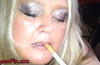 Smoking Blowjob Cumshot While Watching Porn