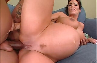 Nancy Vee pregnant interracial anal