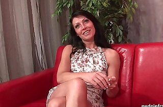 Sublime busty milf hard anal fucked and cum to mouth for her casting