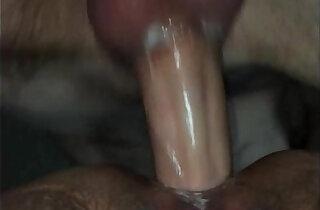 Double creampied slut gets more