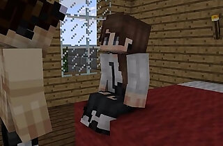 Minecraft girl his ass fucked