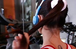 TheRealWorkout Slutty Teen amateur Fucked At The Gym