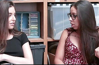 Shoplyfter Cute BFFS Blackmailed Fucked