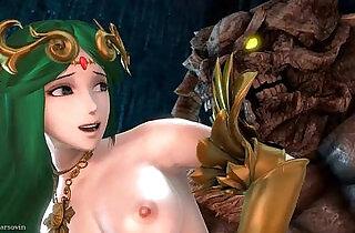Dark Souls Taurus Demon Secret Boss Fight Against Palutena