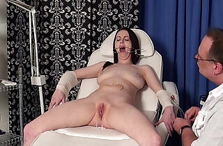 Emilys extreme needles and gagged medical piercing pussy pain