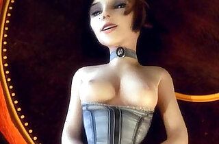 Elizabeth Comstock Bioshock gets pussy drilled in Columbia