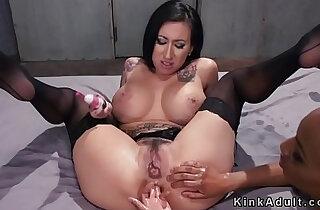Ebony anal lesbian employee