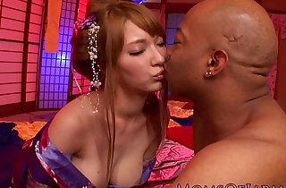 Asian milf loves bbc pounding her