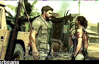 Sheva Alomar x Chris Redfield XXX Welcome To Africa Parody