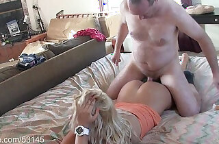 Sexy Blonde Massaged and Creampied HD