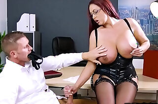 Emma butts pussy and fuck by a huge black mamba cock