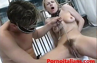 italian porn padrone scopa schiava bionda figa pelosa italian porn mistress