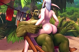 Val Gets her shaved pussy Pounded on the Beach