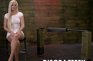 Jenna Ivory is Tormented on the Sybian and Fucked real Hard