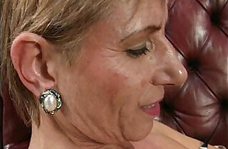 Nasty wild mature lesbian goes crazy getting
